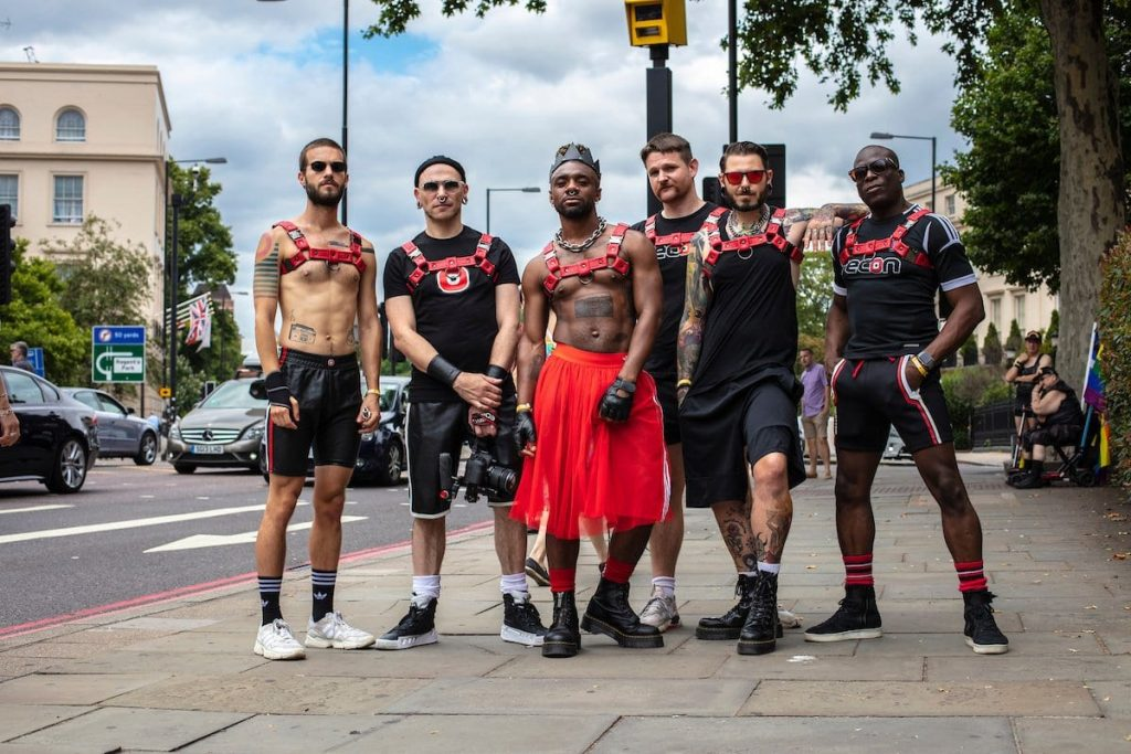 Gilded Fetish and Recon at London Pride 2019